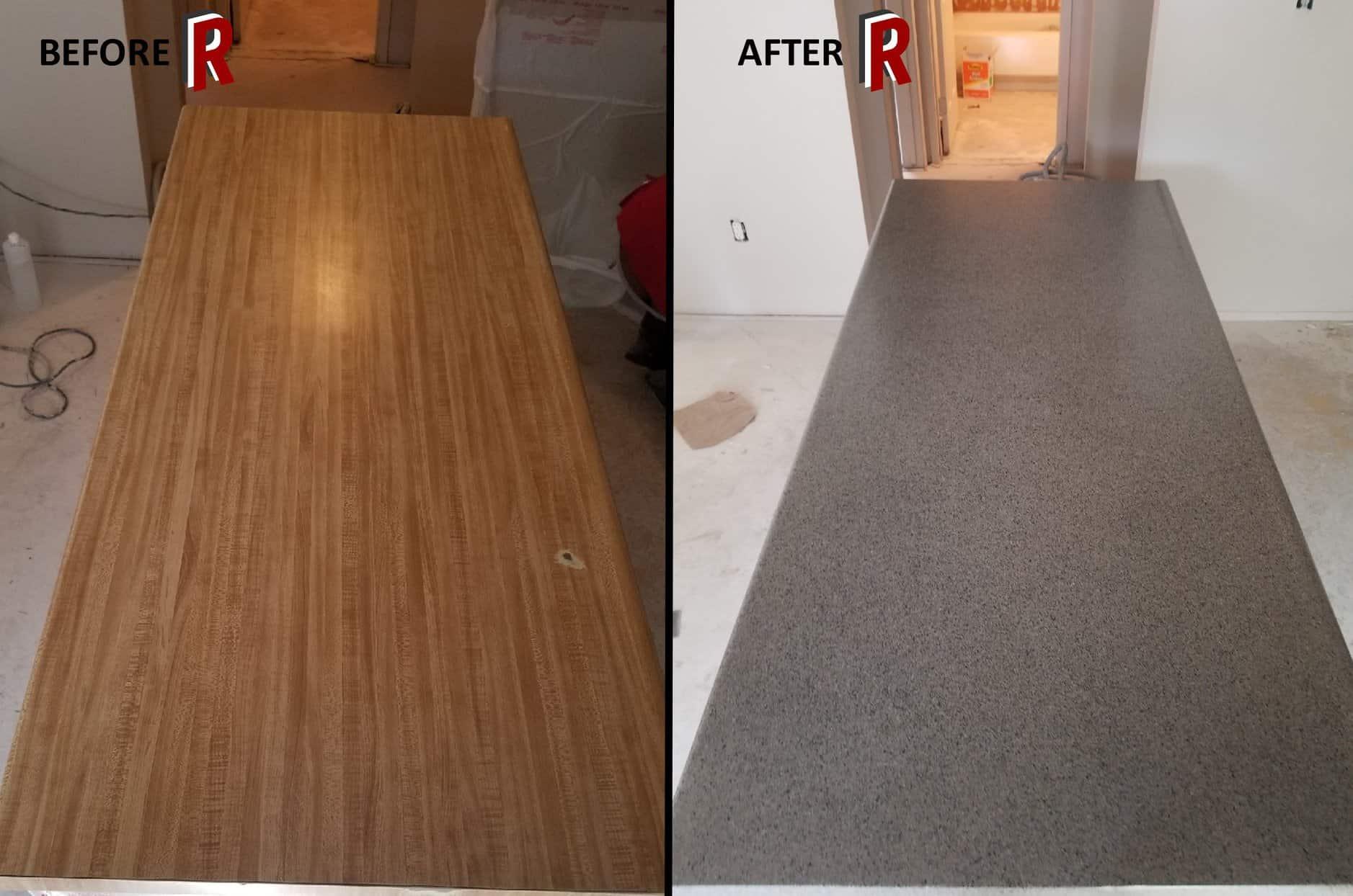 Kitchen Countertop Resurfacing – RedRock Resurfacing