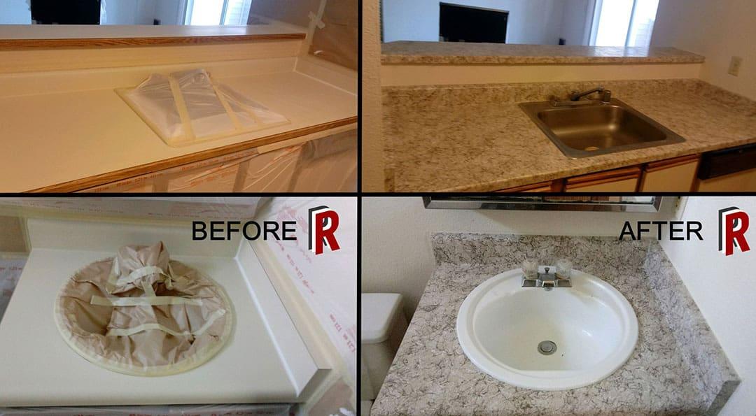 Kitchen Countertop – RedRock Resurfacing